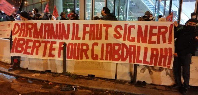 Rassemblement à Paris : On ne lâchera rien, faut signer Darmanin !