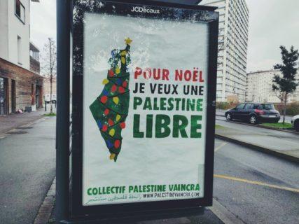 Pour Noël je veux une Palestine libre