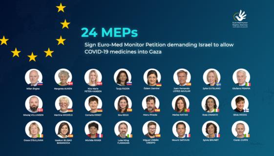 24 députés européens pour la levée du blocus de Gaza