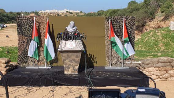 Le porte-parole des factions de la résistance palestinienne à Gaza
