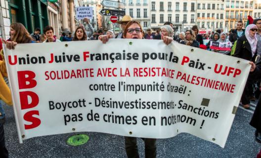 """L'UJFP en France, ainsi que L'UPJB en Belgique font partie du réseau """"Juifs européens pour une paix juste"""""""