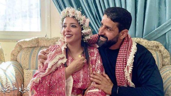 Majd Barbar et sa femme Fatima après 20 ans de séparation.
