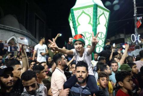 Gaza fête le cessez-le-feu après 11 jours d'intenses bombardements