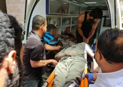 Un des victimes de l'agression israélienne; photo via Ziad Medoukh