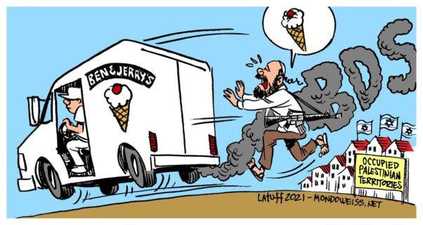 Caricature de Carlos Latuff