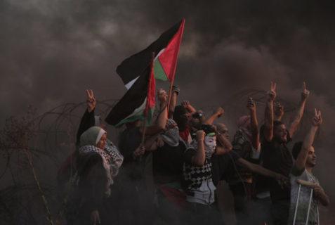 Scène de la Grande Marche du retour, la résistance à Gaza - Photo : Mohammed Zaanoun / Activestills