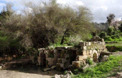 Les vestiges d'une maison du village de Yalo. Lors de la guerre de 1967, Israël en a chassé les habitants pour en faire des réfugiés. (Photo: Palestineremembered.com)